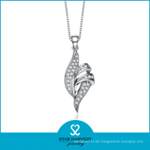 Empfindliche silberne Halsketten-Schmucksachen (SH-N0127)
