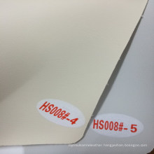 Semi- PU Upholstery Leather for Home Decoration (HS008#)