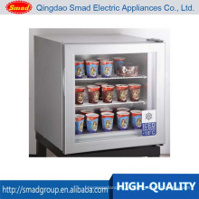 Congelador de exhibición del contador de helado 50L