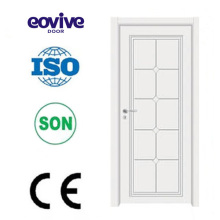 porta de madeira sólida de madeira Pintura Interior portas E-S009