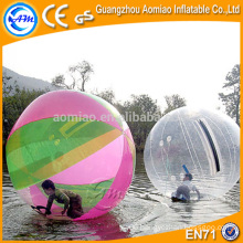 High quality 0.7mm/1.0mm TPU water ball/polo ball, ball shaped water bottle for sale