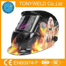 Auto escurecimento filtro de capacete de soldagem