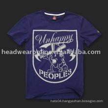 cotton t shirt/round neck t shirt /plain v neck t shirt/polo t shirt with digital printing