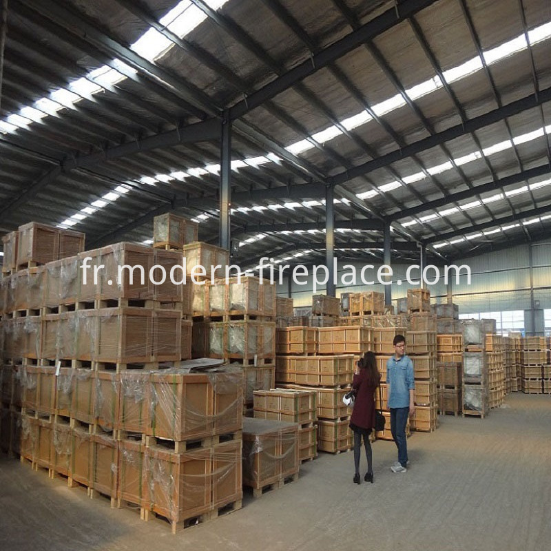 Decorative Wood Stoves Factory Packaging