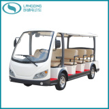 CE Electric Sightseeing Car with Power-Assisted Steering and Gearbox (LQY113BN)