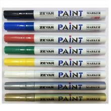 Marcador de pintura para pintura de superficie metálica