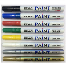 Marcador de tinta para tinta de superfície metálica