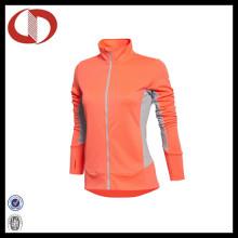 Пользовательский логотип Последние сжатия спорта Куртка для женщин