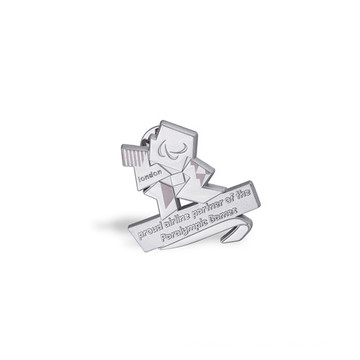 Silver Lapel Pin, Custom Special Badge (GZHY-LP-023)