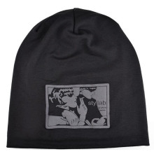 Korea style printed fashion beanies hat winter warm beanies