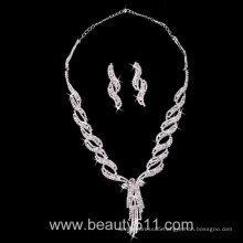 Astergarden Real Photos Wedding Evening Necklace ASJ030