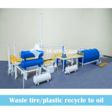 ¡Reciclaje de residuos de 2013 al petróleo! Equipo de pirólisis de HUAYIN