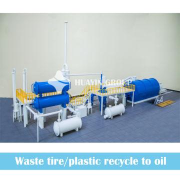2013 Reciclagem de Resíduos em Óleo! Equipamento de Pirólise HUAYIN