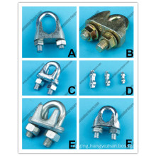 Rigging Marine Hardware Galv U. S. Type Malleable Wire Clamp