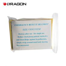 DW-EB01 Cobertor de sobrevivência térmico de emergência