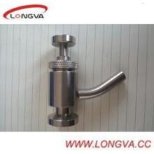 Stainless Steel Sanitary Clamp End Sample Valve