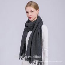 Invierno cálido moda mujer fábrica oem mejor cachemira indio mantón de lana