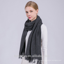 Inverno quente moda feminina fábrica oem melhor kashmir lã indiana xale