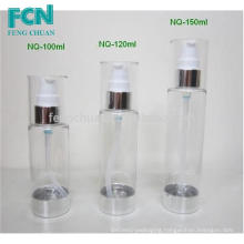 high-class cosmetic empty plastic bottles 100ml 120ml 135ml 150ml