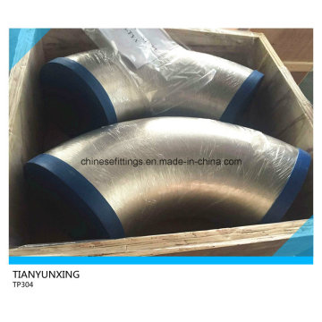 Butt Weld Seamless Stainless Steel TP304 Pipe Elbow