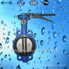 wafer type butterfly valve PN10 made in China butterfly valves body