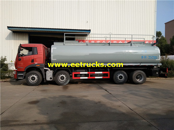 25m3 Corrosive Liquid Delivery Tankers