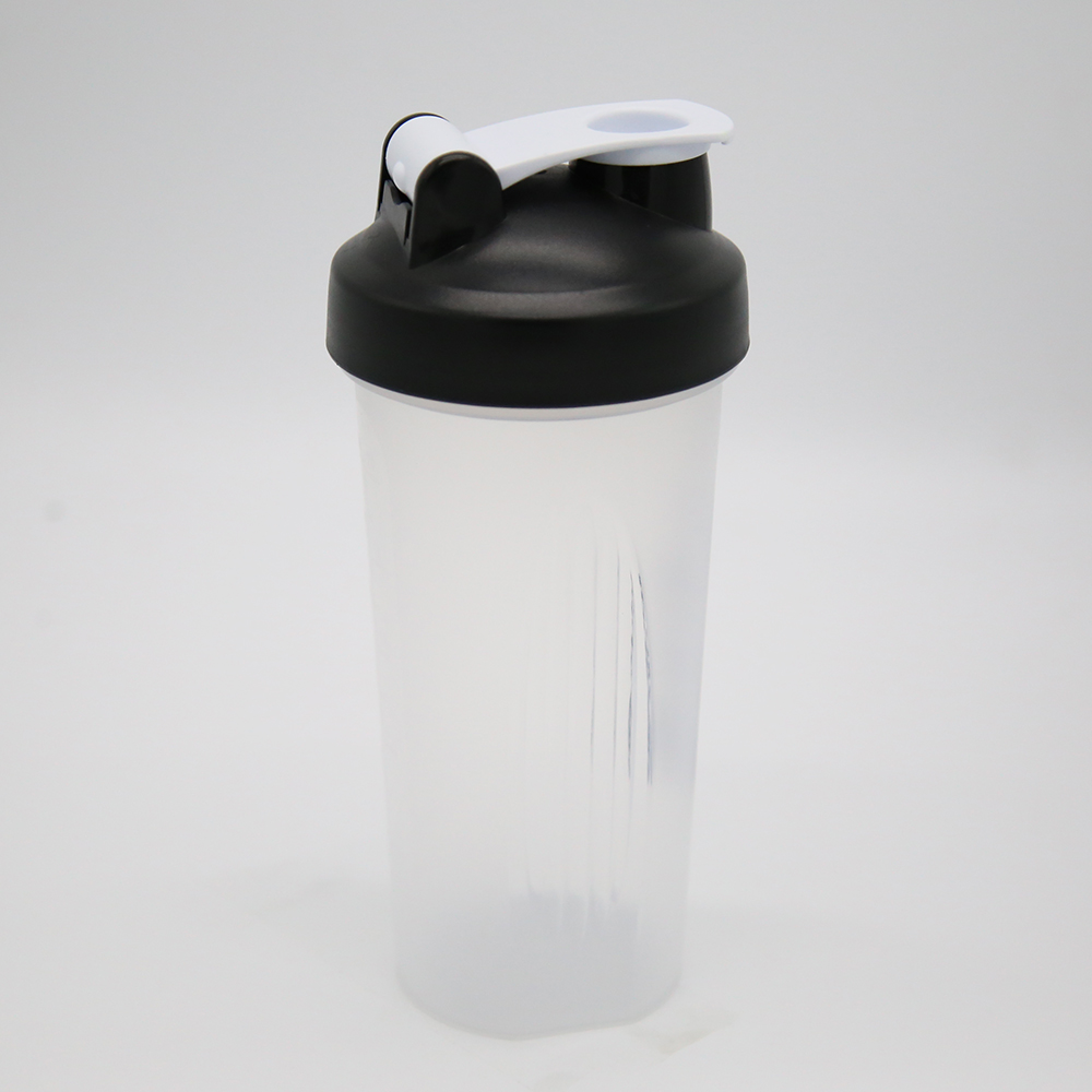 600ml Portable Easy Mixing Shaker Bottle