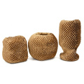 Custom 50M Or 15*100 Cushioning Envelope Tissue Honeycomb Packing Material Bubble Wrapping Paper Bag Roll