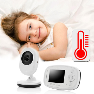 Video y Audio IR Night Vision Baby Monitor
