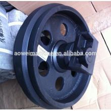 Kobelco excavator front idler roller,SK45SR,SK30,SK25SR,SK45,SK25,SK30-2,SK40,SK50,SK50UR,SK55,LOW ROLLER,