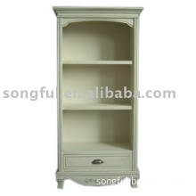 small wooden book cabinet