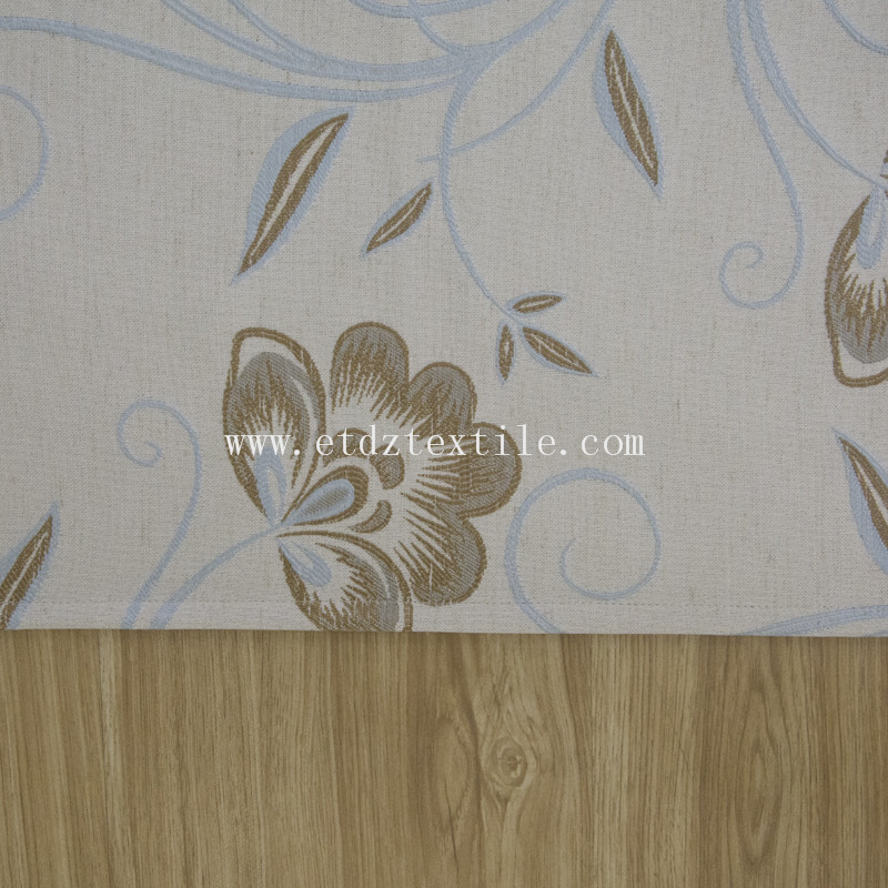 2016 New Flower Curtain FR2057