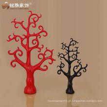 Decoração do hotel Home de Natal da árvore de resina de móveis de cedro vermelho