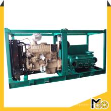 Pompe à eau à haute pression mobile diesel d'irrigation de ferme