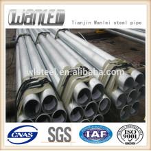 Threading galvanized steel pipe