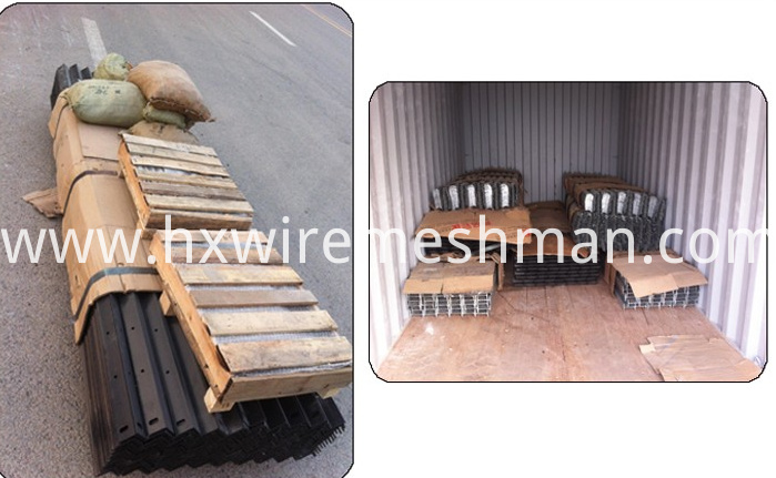 palisade fence packing
