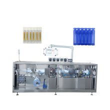 1ml plastic ampoule liquid FFS forming filling sealing single cutting machine