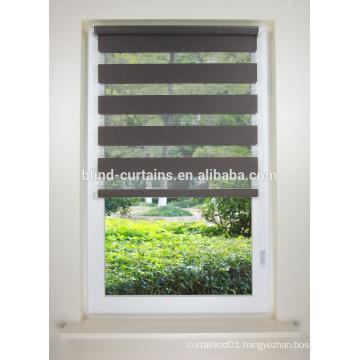 beautiful zebra window roller blind with blackout fabrice