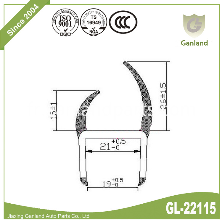 PVC And EPDM Rubber gl-22115