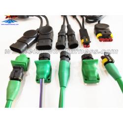 Overmolded superseal 1.5 waterproof connectors