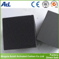 vente charbon à base de charbon actif Honeycomb de fournisseur de porcelaine