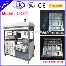 Sandwich PP tray vacuum forming machine