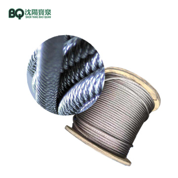 35W7-12mm Hoisting Wire Rope for 6t Tower Crane
