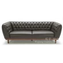 Cuero de gamuza imitación de piel de poliéster cuero para sofá