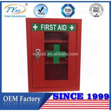 boîte de premiers soins rouge de haute qualité