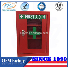 high quality wall mounted red first aid box