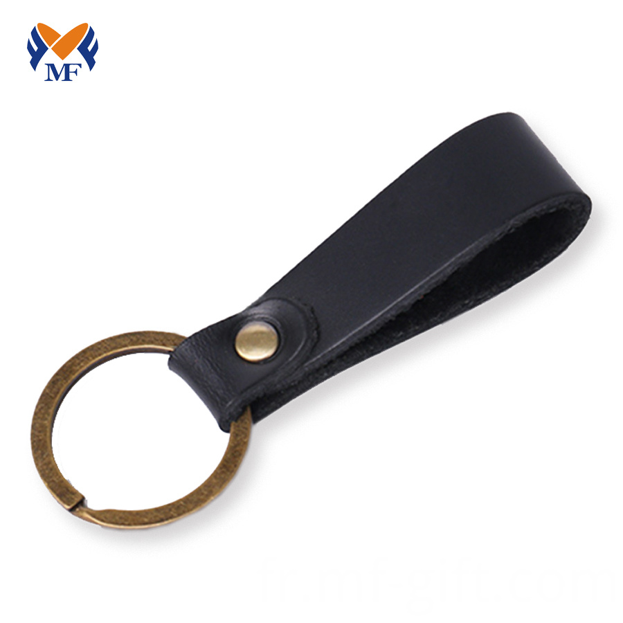 Leather Keychain Diy