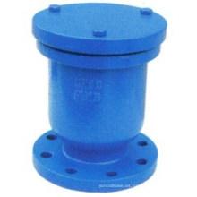 Válvula de liberación de aire de orificio simple del extremo Falnged
