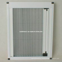 Fireproof Fibreglass Meshes Pleated Retractable Fly Screen