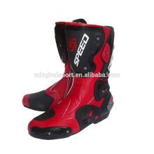 Super schwere Qualität Motocross Racing Schuhe automatische Motorradstiefel